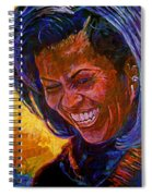 First Lady Michele Obama Spiral Notebook