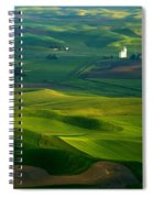 First Light On The Palouse Spiral Notebook