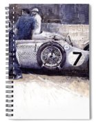 1950 First Met Up Talbot Lago Le Mans 24 Spiral Notebook