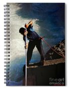 First Nation Fisherman Spiral Notebook