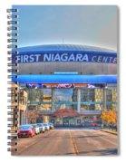 First Niagara Center Spiral Notebook