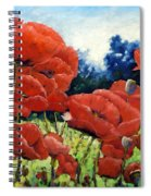 First Of Poppies Spiral Notebook