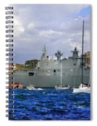 First Peak At Australia's Newest Warship Spiral Notebook