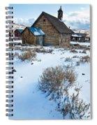 First Snow  Bodie Spiral Notebook