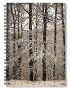 First Snow Spiral Notebook