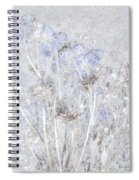First Snow In The Field Spiral Notebook