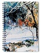 First Snowfall Spiral Notebook
