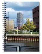 First Star Tall View From River Spiral Notebook
