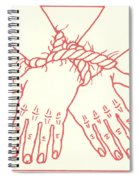 First Station- Jesus Is Condemned To Death  Spiral Notebook