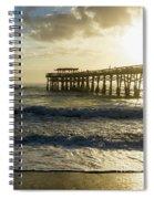 First Sunrise Glory Spiral Notebook