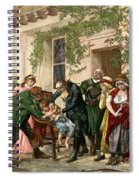 First Vaccination, 1796 Spiral Notebook