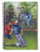First Warm Day Spiral Notebook