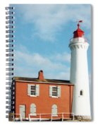 Fisgard Lighthouse Spiral Notebook