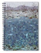 Fish And Winter Spiral Notebook