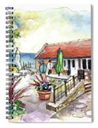 Fish Box In Robin Hoods Bay  Spiral Notebook