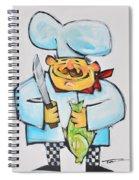 Fish Chef Spiral Notebook