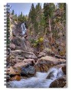 Fish Creek Fallin Spiral Notebook