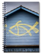 Fish House Spiral Notebook