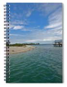 Fish Hut 2 Spiral Notebook