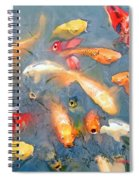 Fish In A Lake Spiral Notebook