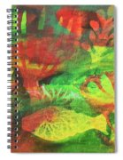 Fish In Green Spiral Notebook