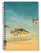 Fish Life  Spiral Notebook