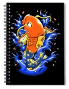 Fish Lucky Spiral Notebook