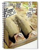 Fish Market Spiral Notebook