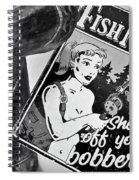 Fish Naked Spiral Notebook