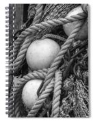 Fish Netting Husavik Iceland 3759 Spiral Notebook