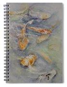 Fish Pond Spiral Notebook