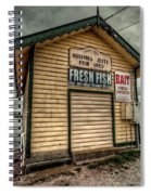 Fish Shed Spiral Notebook
