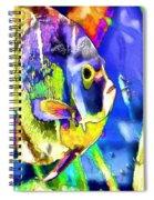 Fish Snack Spiral Notebook