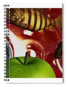 Fish Tripping Spiral Notebook