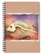 Fishbones Spiral Notebook