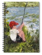 Fisher Boy Spiral Notebook