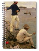 Fisher Boys Falmouth Spiral Notebook