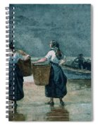 Fisher Girls By The Sea Spiral Notebook
