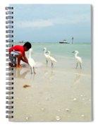 Fisherboy Spiral Notebook