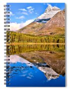 Fishercap Blue Reflections Spiral Notebook