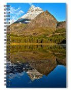Fishercap Snowcap Reflections Spiral Notebook