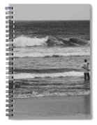 Fisherman - Costa Del Sol - El Salvador Bnw V Spiral Notebook
