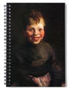 Fisherman Daughter 1910 Spiral Notebook