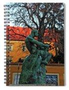 Fisherman Fight, Zagreb  Spiral Notebook