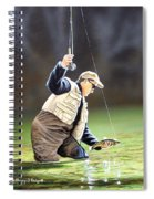 Fisherman II Spiral Notebook