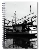 Fisherman's Boat Spiral Notebook