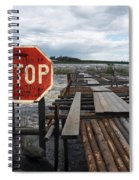 Fishermans Dock Spiral Notebook