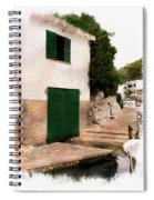 Fisherman's House Spiral Notebook