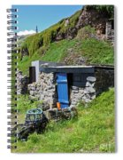 Fisherman's Hut Priest's Cove Cape Cornwall Spiral Notebook