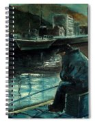 Fisherman's Patience Spiral Notebook